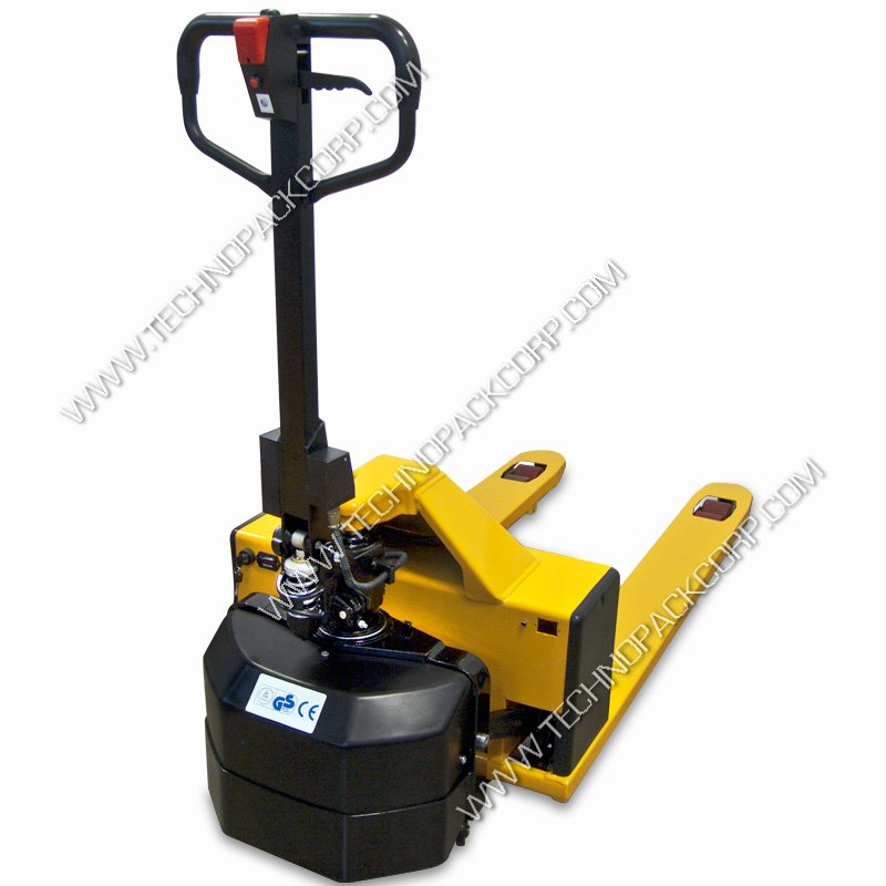 Semi Electric Pallet Jack Truck