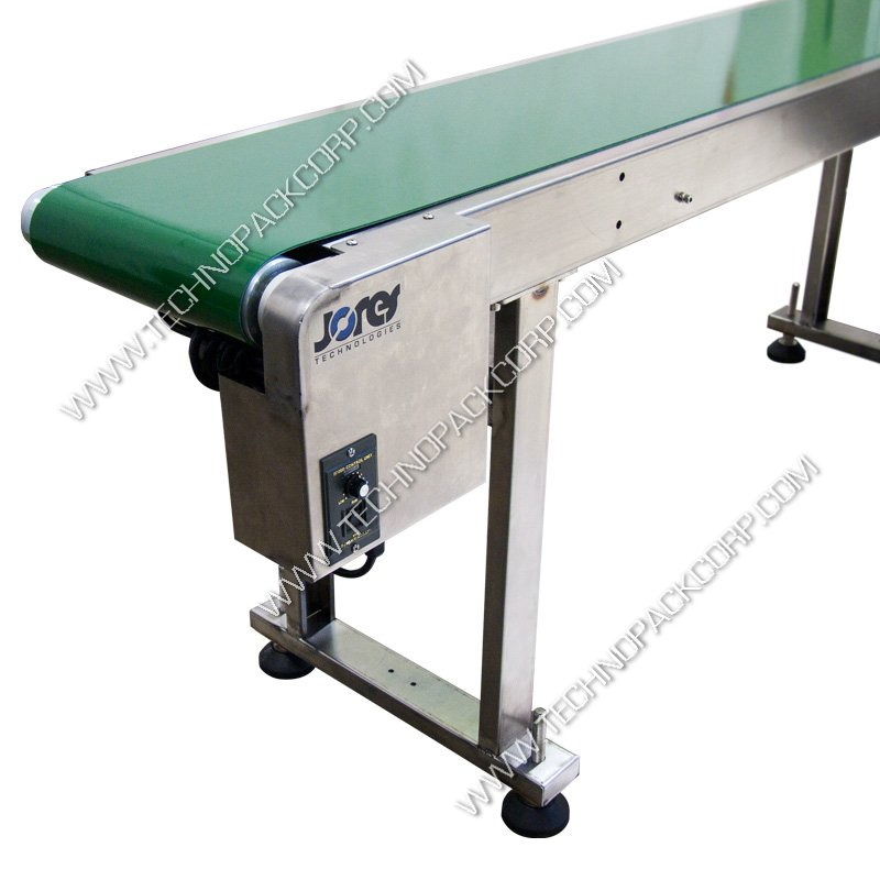 Belt driven live roller conveyor Motorized conveyor belt