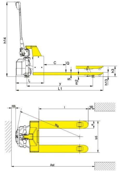 electric pallet jack dimensions. warranty information electric pallet jack dimensions v