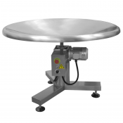"Stainless Steel Accumulating Rotary Table 48"" Model ART-100 by JORESTECH®"
