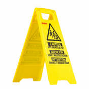 JORESTECH® Caution Children at Play - Folding Safety Sign - Bright 2 Sided