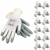 JORESTECH® Palm Dipped Nitrile Coated Knit Work Gloves PPE Hand Protection (S-GD-01)