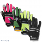 JORESTECH® Work Gloves Silicone-Infused Palms With Back Neoprene Adjust Strap  (S-GM-002)