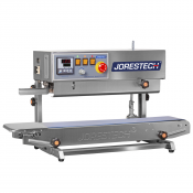 Continuous Band Sealer Horizontal / Vertical Digital Stainless Steel Left to Right Model CBS-730-D-L-R by JORESTECH®