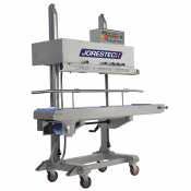 CBS-1010I-220 Digital Stainless Steel Continuous Band Sealer with counter