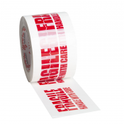 "Heavy-Duty 3"" Printed Tape - Fragile"