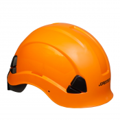 PPE By JORESTECH®- ABS Work-At-Height and Rescue Hard Hat Helmet w/ Adjustable Ratchet 6-Point Suspension, Meets ANSI Z89.1-14. For Work, Home, and General Headwear Protection Non-Slotted (S-HHAT-03)