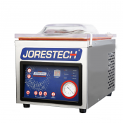 JORESTECH® CHAMBER VACUUM BAG SEALER WITH ROTARY PUMP AND EMBOSSING TECHNOLOGY