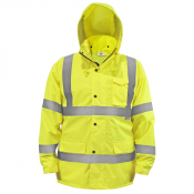 JORESTECH® ANSI/ISEA 107-2015 Class 3 level 2 Rain Jacket (S-JK-03) - Main Picture
