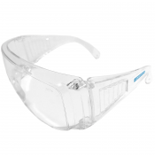 JORESTECH® Clear, UV Protection, Prescription Frame Compatible, Meets ANSI Z87+ Standards, Eye Protection Activewear. Pack of 12. (S-LSC203CLEAR-CASE)