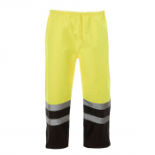 JORESTECH® ANSI/ISEA 107-2015 Class 3 level 2 High Visibility Lime/Yellow Reflective Safety Rain Pants  (S-PANTS-03B)