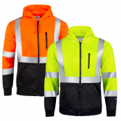 JORESTECH® ANSI/ISEA 107-2015 Class 3 High Visibility Sweatshirt With Hoodie (S-SW-01)