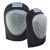 Heavy duty Gel Fill Knee Pads with poly shell caps (Model - S-KP-01-BK)