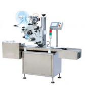 JORESTECH OMICRON-4 AUTOMATIC LABELING MACHINE FOR THIN, FLAT SURFACES
