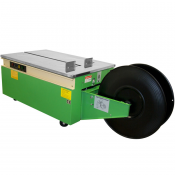 Low Profile Semiautomatic Strapping Machine