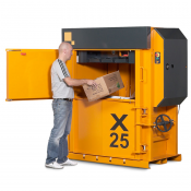 X25 HD Low Profile Vertical Baler