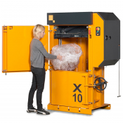X10 HD Low Profile Vertical Baler
