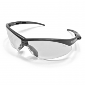 Jores Smoke / Brown / Clear Lens With Black Frame Safety Glasses