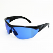 Jores Blue / Clear / Green / Yellow Lens With Black Frame Safety Glasses