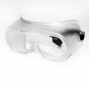 Jores Clear Frame / Clear Lens Safety Goggles