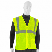 ANSI/ISEA 107-2015, Type R Class 2, One Pocket Breakaway Mesh Vest - Main Picture