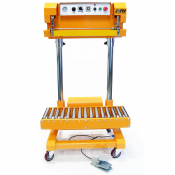 JORESTECH® HEAVY-DUTY LARGE BAG IMPULSE SEALER (E-MFS-600PN) Front View