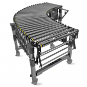 JORESTECH® Heavy Duty Flexible Industrial Gravity Roller Conveyor Belt (E-CONVEYOR-ROLLER)