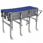 Flexible Gravity Skate Wheel Roller Conveyor - Model CONVEYOR-WHEEL by JORESTECH®