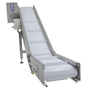JORESTECH® Motorized Incline Take Away Exit Conveyor (E-TAKE AWAY CONVEYOR)