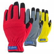 JORESTECH® All Purpose Heavy Duty High Dexterity Gloves. Three Pairs (S-GM-003)