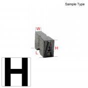 Type Letter (H)