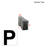 Type Letter (P)