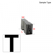 Type Letter (T)
