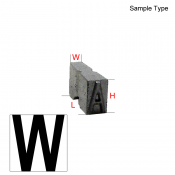 Type Letter (W)