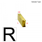 Type Letter (R)