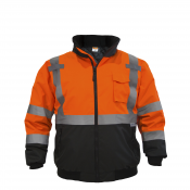 JORESTJORESTECH™ Class 3 level 2 Orange Safety Bomber Jacket with Detachable Hood (S-JK-02O)ECH™ Class 3 level 2 Yellow Safety Bomber Jacket with Detachable Hood (S-JK-02Y)