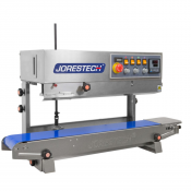 JORESTECH™ Digital Stainless-Steel Continuous Band Sealer with Dual-Orientation System - 220 VAC. (E-CBS-800I 220V)