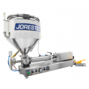 JORESTECH® 1000ml High Viscosity Piston Filler with Heated Hopper (E-FP-1000DHH)