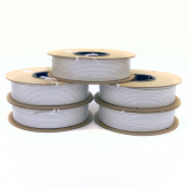 Twist Tie Spools - (Color White)