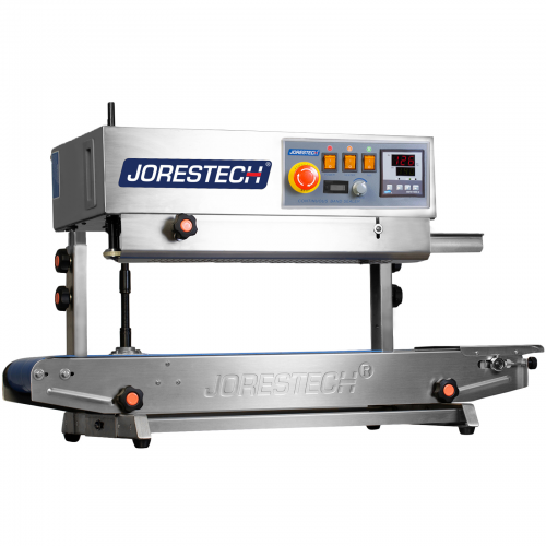 Continuous Band Sealer Horizontal / Vertical Digital Stainless Steel with Counter Model CBS-730-D-N by JORESTECH®