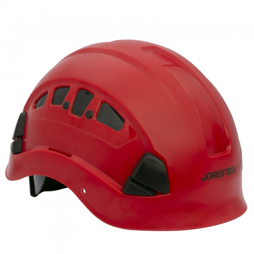 Ppe By Jorestech Abs Work At Height And Rescue Hard Hat Slotted Ventilated Helmet W Adjustable Ratchet 6 Point Suspension Meets Ansi Z891 14 For