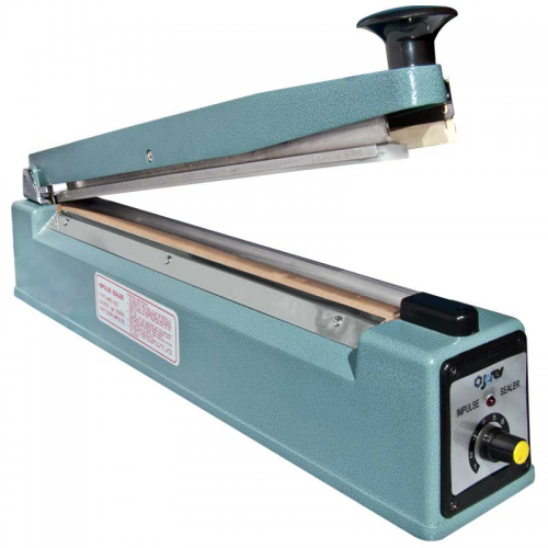 "16"" Bag Sealer Impulse Manual Sealer with Side Cutter"