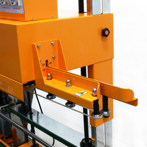 Vertical Continuous Band Sealer CBS-2010 Bag Entry