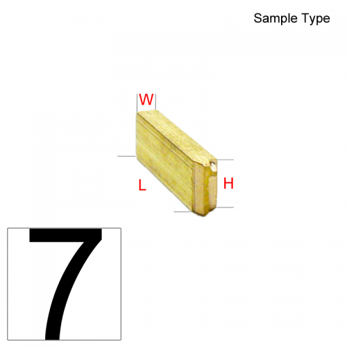 Type Number (7)