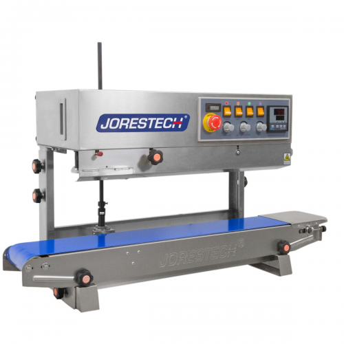 CBS-800I-220 Digital Stainless-Steel Continuous Band Sealer with Dual-Orientation 220V