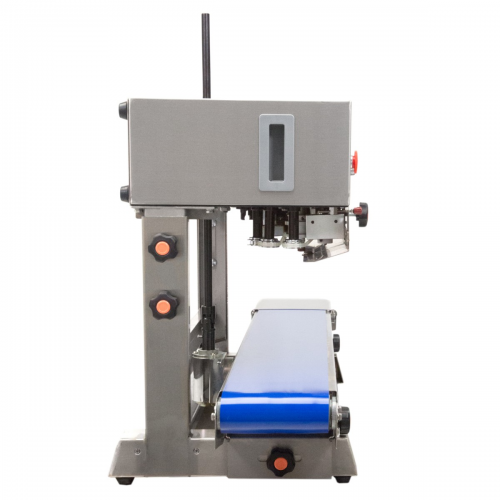 JORESTECH® Digital Stainless-Steel Continuous Band Sealer with Dual-Orientation System - 220 VAC. (E-CBS-800I 220V)