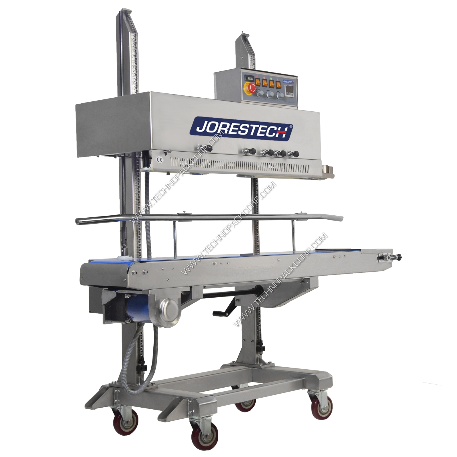 Continuous Band Sealer Digital Stainless Steel 220 Volts