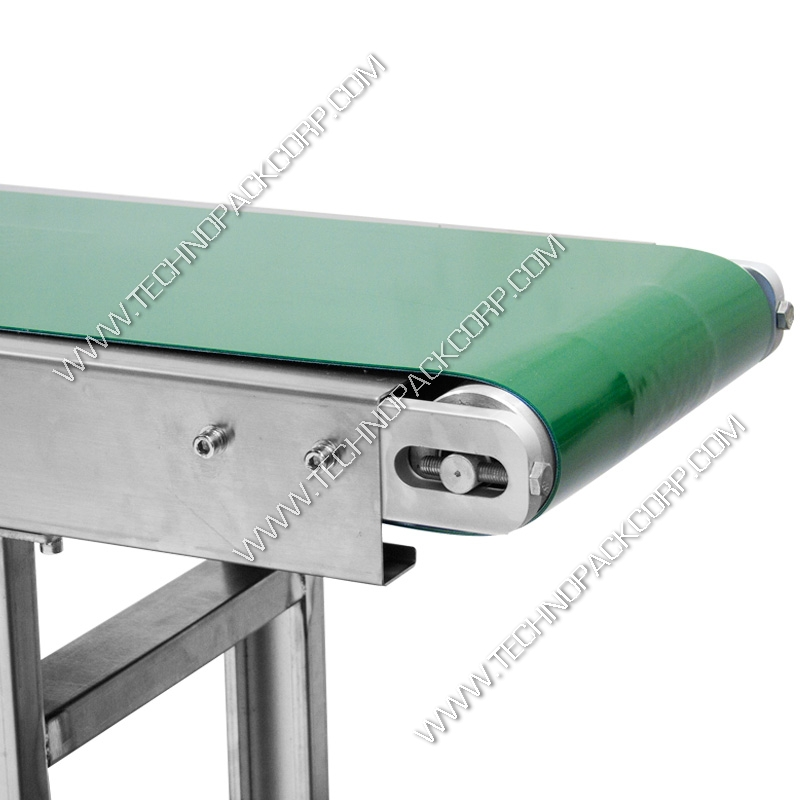 Belt driven live roller conveyor e conveyor belt Motorized conveyor belt
