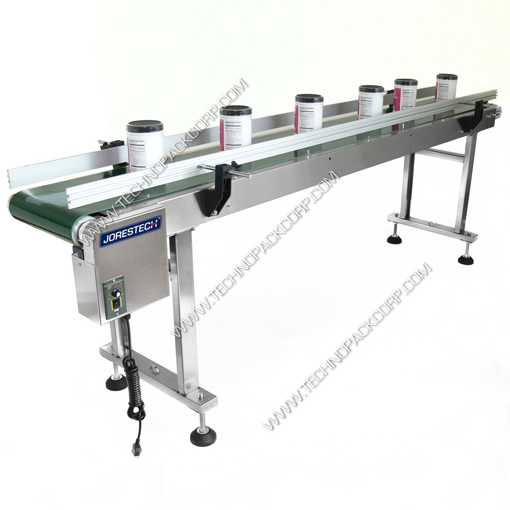 Jorestech motorized belt conveyor mk3 12 x 98 5 belt Motorized conveyor belt
